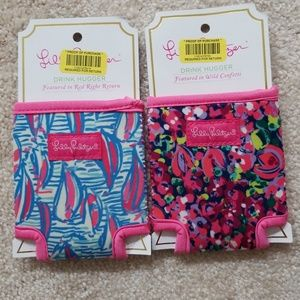 NWT Lilly Pulitzer Drink Huggers (Coozie, Koozie)
